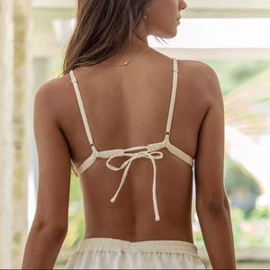 Intimates & Sleepwear - GOOSEBERRY INTIMATES- Delight Triangle in Cream